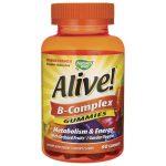 Nature's Way Alive! B-Complex Gummies 60 Gummies B Vitamins