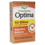 Nature's Way Primadophilus Optima Digestive Balance 50 Billion CFU 30 Veg Caps Probiotics