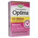 Nature's Way Primadophilus Optima Women's 50 Billion CFU 30 Veg Caps Probiotics