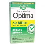 Nature's Way Primadophilus Optima Immune Defense Digestive Support 50 Billion CFU 30 Veg Caps Probiotics