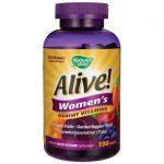 Nature's Way Alive! Women's Gummy Vitamins 130 Gummies Multivitamins