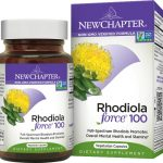 New Chapter Rhodiola Force 100 30 Veg Caps Stress and Mood