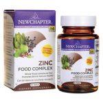 New Chapter Zinc Food Complex 60 Tabs Health Minerals