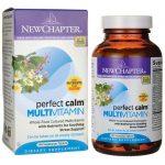 New Chapter Perfect Calm Multivitamin 144 Veg Tabs Vitamin C