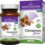 New Chapter Cinnamon Force 60 Veg Caps Blood Sugar Support
