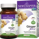 New Chapter Ginger Force 60 Veg Caps Digestive Health and Fiber