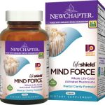 New Chapter Lifeshield Mind Force 60 Veg Caps Memory and Brain Health