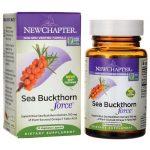 New Chapter Sea Buckthorn Force 30 Veg Caps Digestive Health and Fiber