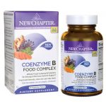 New Chapter Coenzyme B Food Complex 60 Veg Tabs B Vitamins