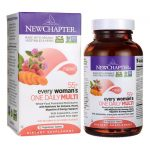 New Chapter 55+ Every Woman's One Daily Multi 72 Veg Tabs Multivitamins