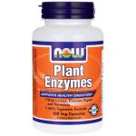 NOW Foods Plant Enzymes 120 Vcaps Digestive Health and Fiber