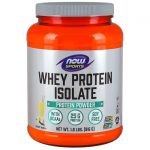 NOW Foods Whey Protein Isolate – Natural Vanilla 1.8 lbs Powder