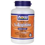 NOW Foods L-Arginine 1,000 mg 120 Tabs Amino Acids