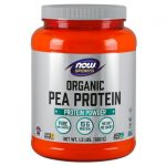 NOW Foods Organic Pea Protein – Natural Unflavored 1.5 lbs Powder