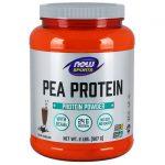 NOW Foods Pea Protein – Dutch Chocolate 2 lbs Powder