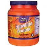 NOW Foods Eggwhite Protein Pure Powder 1.2 lbs Powder