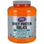 NOW Foods Whey Protein Isolate – Unflavored 5 lbs Powder
