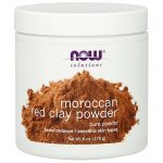 NOW Foods Moroccan Red Clay Powder 6 oz Powder Skin Care