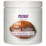 NOW Foods Cocoa Butter with Jojoba Oil 6.5 fl oz Cream Skin Care