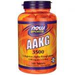 NOW Foods Aakg 3500 180 Tabs Amino Acids