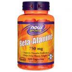 NOW Foods Beta-Alanine 750 mg 120 Caps Energy