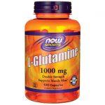 NOW Foods L-Glutamine 1,000 mg 120 Caps Amino Acids