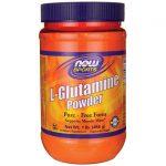 NOW Foods L-Glutamine Powder 1 lb Powder Amino Acids