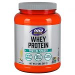 NOW Foods Whey Protein – Natural Vanilla 2 lbs Powder