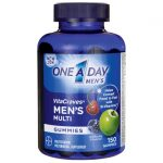 One A Day Vitacraves Men's Multi Gummies 150 Gummies Multivitamins