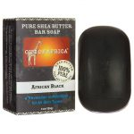 Out of Africa 100% Pure Shea Butter Bar Soap – African Black 4 oz Bars