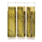 Out of Africa Pure Shea Butter Lip Balm 3 Pack – Tropical Vanilla 3 / 0.15 oz Balm