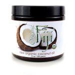 Organic Fiji Raw Coconut Oil 13 oz Solid Oil Essential Fatty Acids