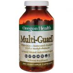 Oregon Health Multi-Guard 240 Veg Caps Vitamin C Multivitamins