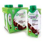 Orgain Organic Nutritional Shake Creamy Chocolate Fudge 4/11 fl oz Bottles Protein