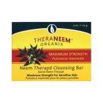 Organix South Theraneem Neem Therape Cleansing Bar Max Strength 4 oz Bars