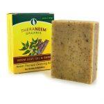 Organix South Theraneem Neem Therape Cleansing Bar – Leaf, Oil & Bark 3.6 oz Bars
