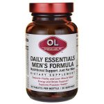 Olympian Labs Daily Essentials Men's Formula 30 Tabs Multivitamins