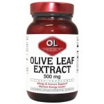 Olympian Labs Olive Leaf Extract 500 mg 60 Veg Caps Immune Support