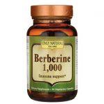 Only Natural Berberine 1,000 1,000 mg 50 Veg Caps Immune Support