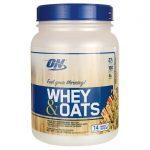 Optimum Nutrition Whey & Oats – Vanilla Almond Pastry 1.54 lb Powder Protein
