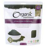 Organic Traditions Spirulina Powder 5.3 oz Package