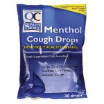 Quality Choice Cough Drops Menthol 30 ct Respiratory Health