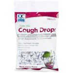 Quality Choice Cough Drops Black Cherry Sugar Free 25 ct Respiratory Health