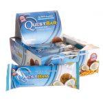 Quest Nutrition Questbar Protein Bar – Coconut Cashew 12/2.1 oz Bars