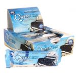 Quest Nutrition Questbar Protein Bar – Cookies & Cream 12/2.1 oz Bars