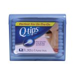 Q-Tips Cotton Swabs Travel Pack 30 ct First Aid
