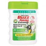 Quantum Health Buzz Away Extreme Towelettes 25 ct Insect Repellent and Bites