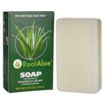 Real Aloe Vera Soap 4.75 oz Bars