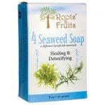 Roots & Fruits 4 Seaweed Soap 5 oz Bars