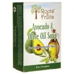 Roots & Fruits Avocado Olive Oil Soap 5 oz Bars